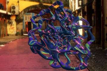 Esculturas virtuais 'expostas' em Lisboa