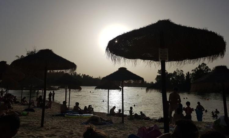 Praia fluvial da Mina de S. Domingos, Mértola