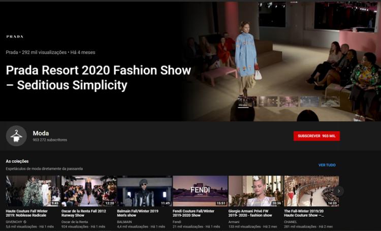 YouTube reúnde players mundiais e lança novo canal de moda