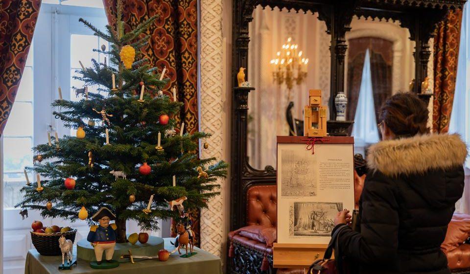 Árvore de Natal D. Fernando II. Foto: Luís Duarte