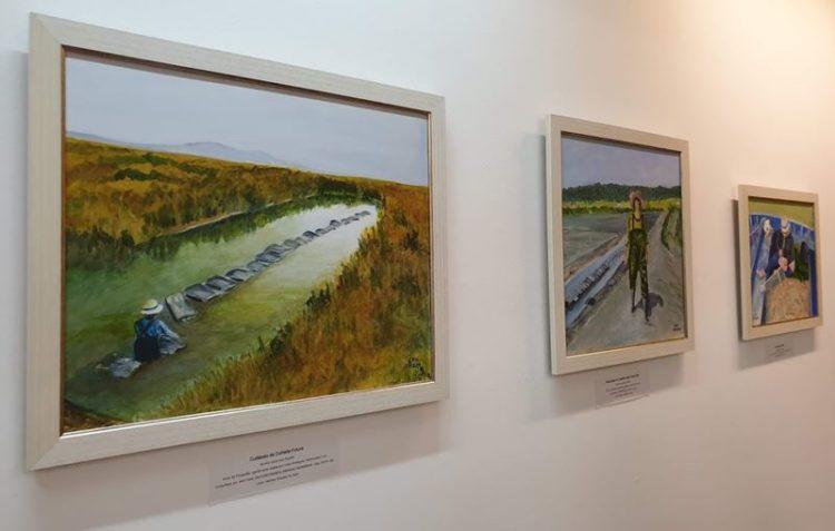 Exposição de pintura homenageia as mulheres pescadoras de Portugal