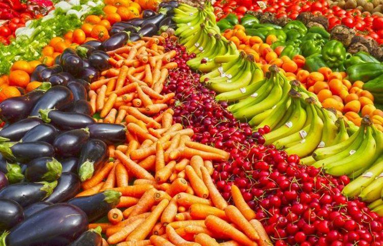 A dieta arco-íris durante a pandemia de Covid-19