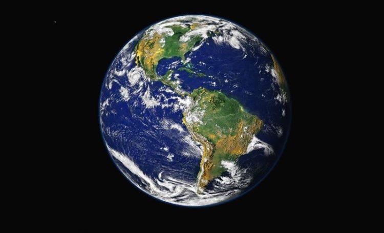 O planeta Terra no nosso mapa