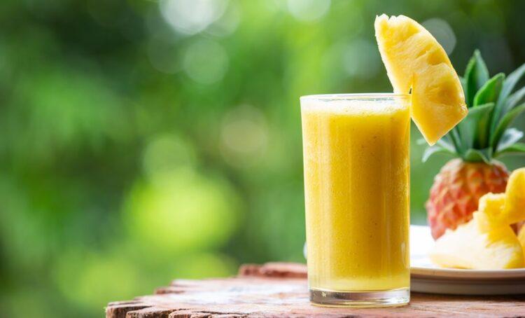 Sete benefícios do sumo de ananás