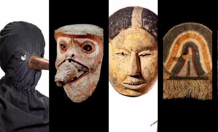 'Um Mundo de Máscaras' em exposição no Museu da Farmácia
