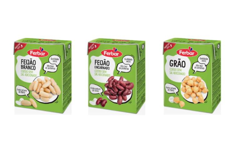 Leguminosas portuguesas chegam ao mercado em embalagens mais amigas do ambiente
