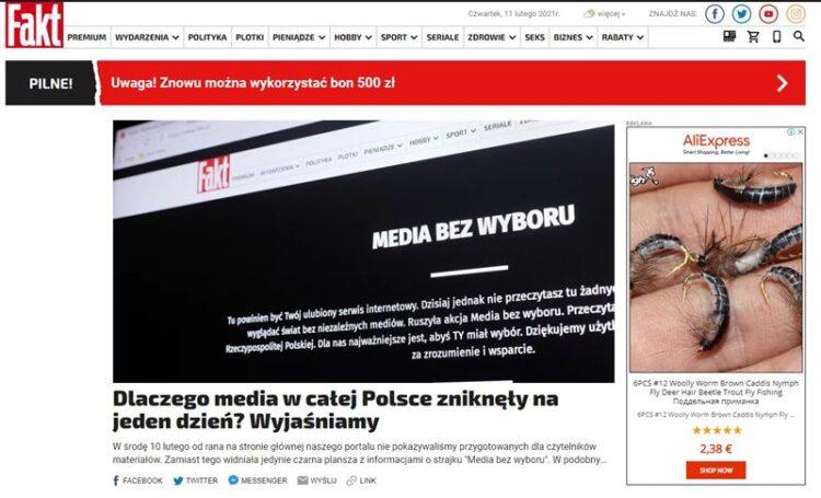 Imprensa da Polónia 'de luto' por novas imposições do Governo à sua atividade