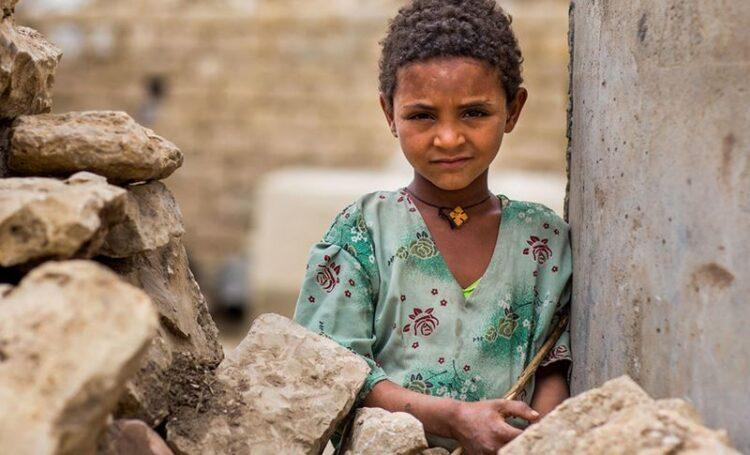 Foto: Criança em Tigray. UNICEF/Zerihun Sewunet