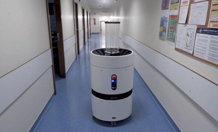 Startup portuguesa desenvolve robot que combate a COVID-19
