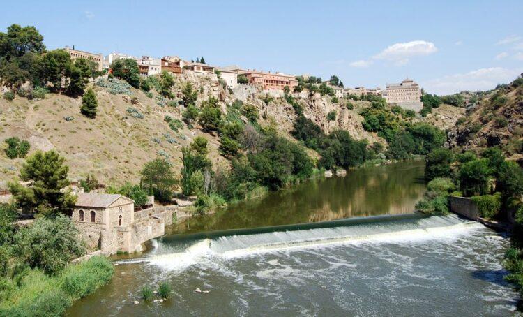 Rio Tejo em Toledo, Espanha