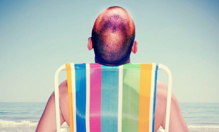 Cuidados a ter com um couro cabeludo exposto