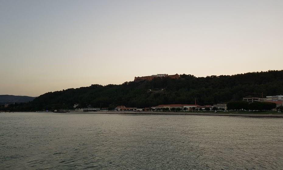 Fortaleza de S. Filipe, em Setúbal.