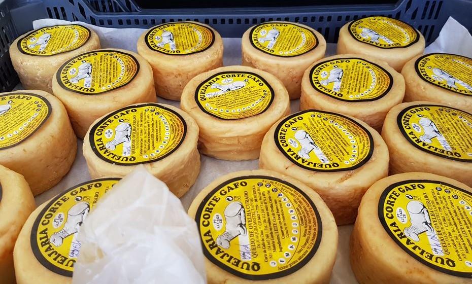 Os apreciados queijos de ovelha.