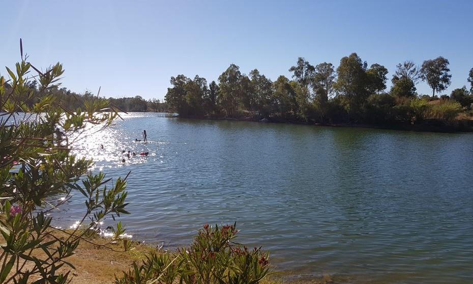Praia fluvial da Tapada Grande, Mina de São Domingos.