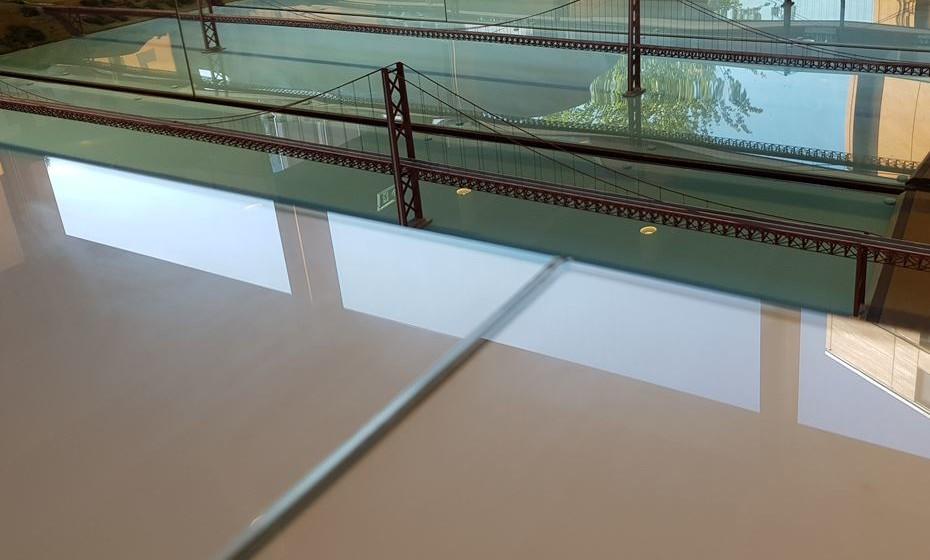 A maquete original da ponte pela primeira vez disponível ao público