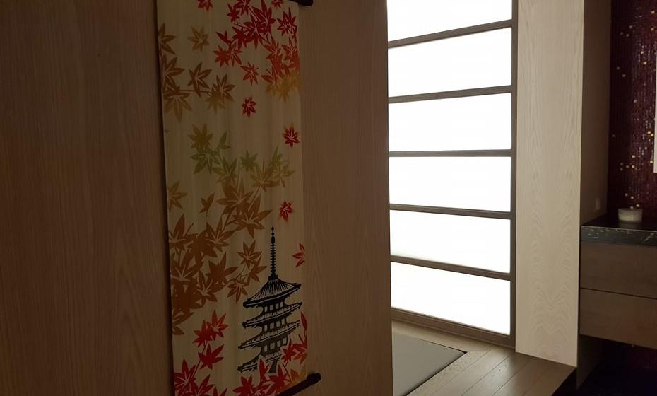 Sala para tratamentos japoneses.