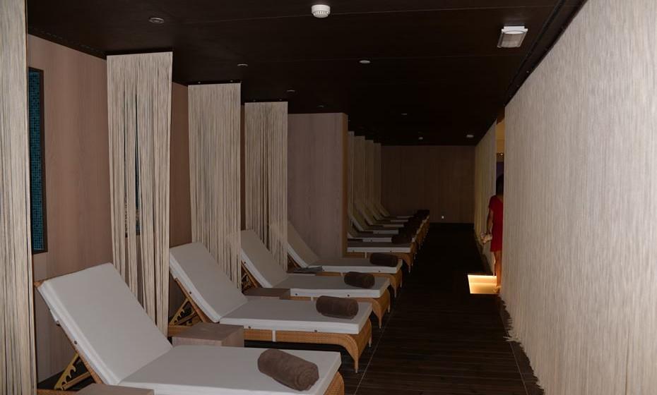 Sala de relaxamento interior