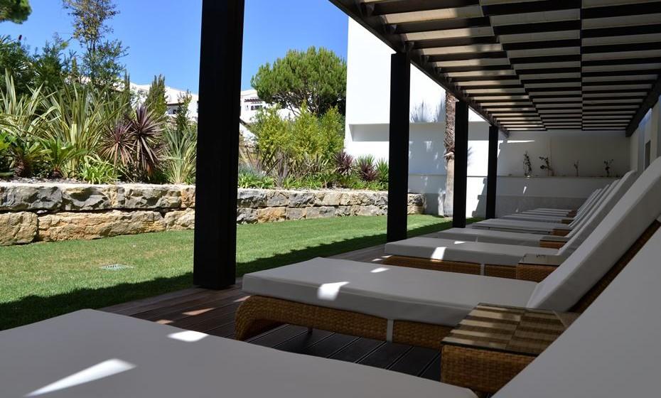 Sala de relaxamento exterior