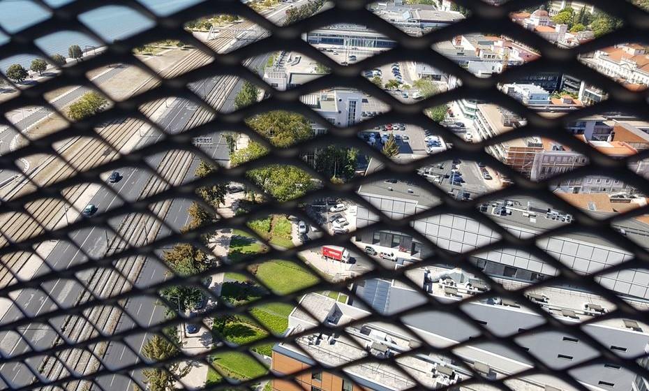 Vista do miradouro a 80 metros de altura