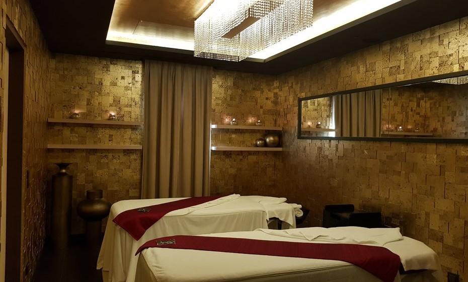 Sala para tratamentos  de casal.