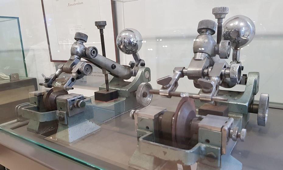 No Museu do Diamante, pode ver as várias fases do processo.