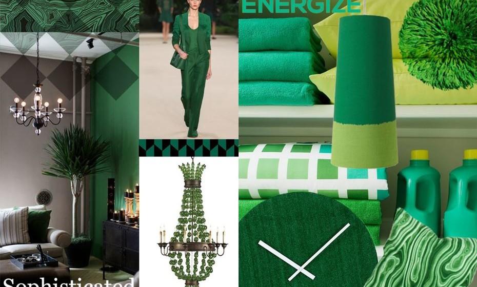 2013: O verde esmeralda pretendia elevar a elegância e a sofisticação balanceada com o senso de bem-estar e harmonia.