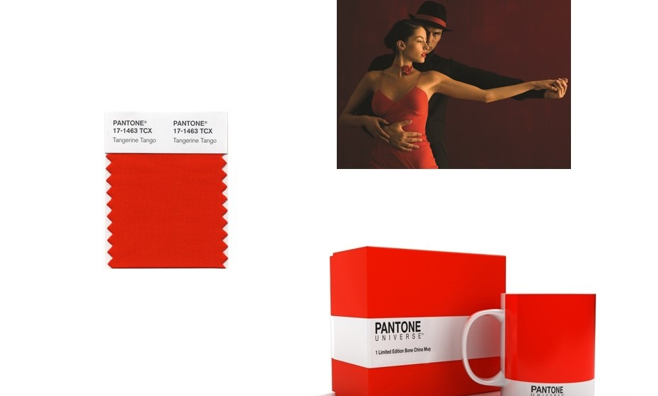 2012: Tangerina Tango, assim foi nomeada esta cor laranja avermelhada, para fornecer o impulso de energia necessário recarregar e avançar.
