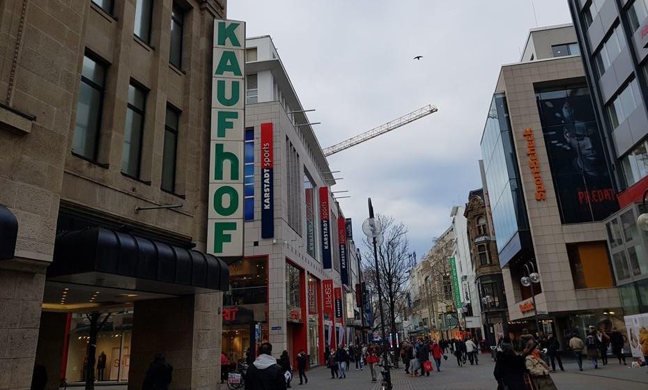 Colónia é também conhecida por ser um dos paraísos de compras da Alemanha.