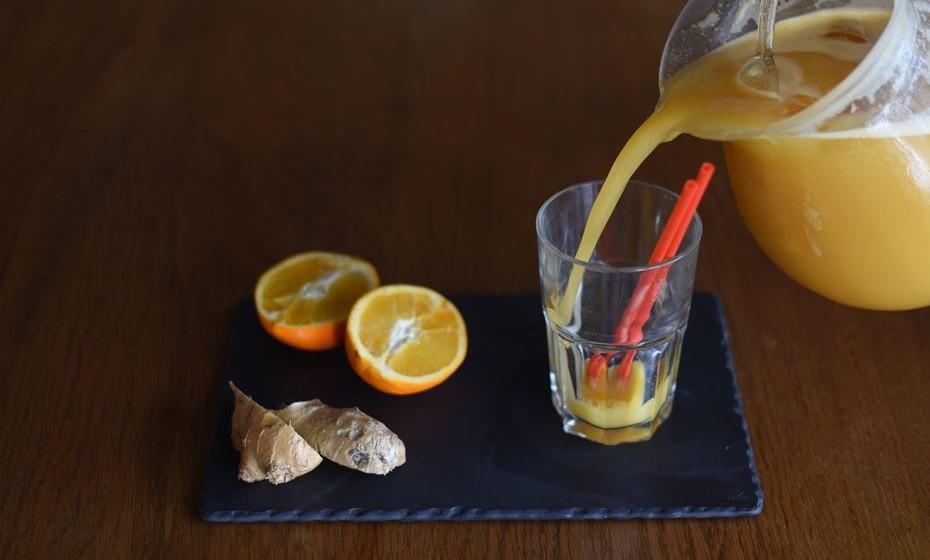 Sumo detox laranja picante