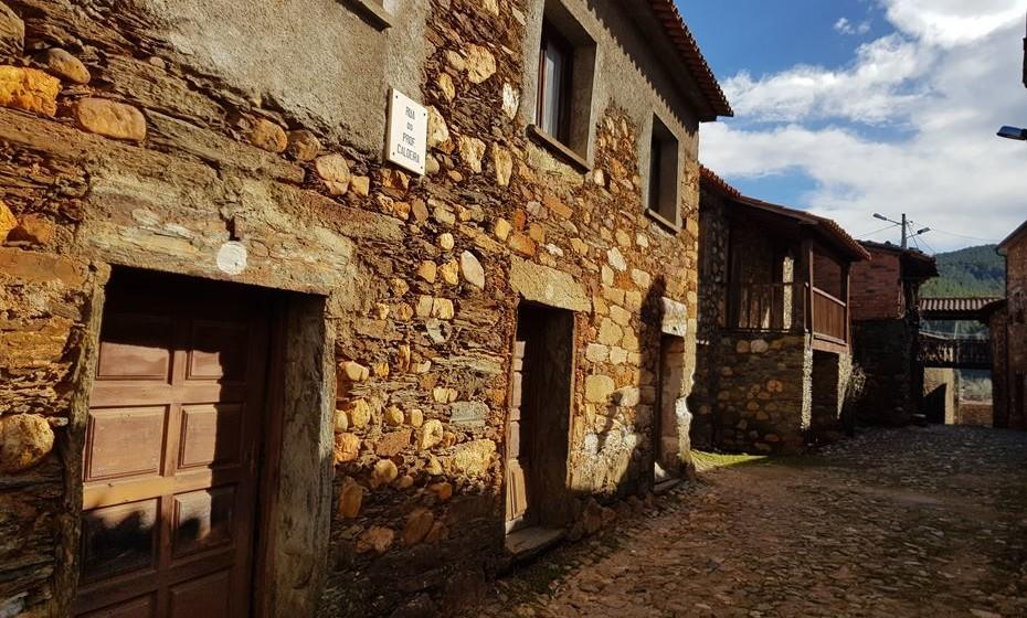 Mais uma imagem de uma aldeia da região - Janeiro de Cima, a meia hora de Pampilhosa da Serra.