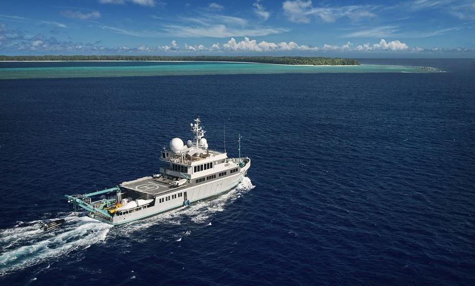 A embarcação Alucia