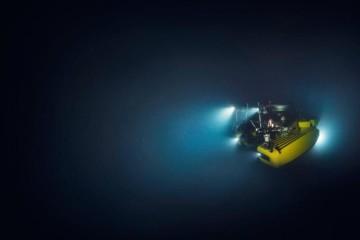 Submersível da embarcação Alucia