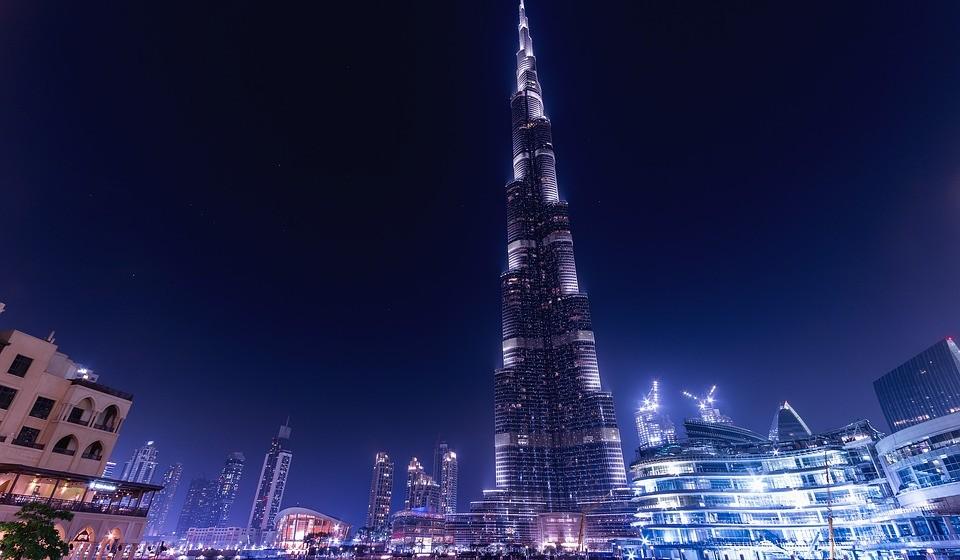 20 - Emiratos dos Árabes Unidos.