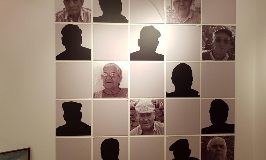 Fotografias de antigos contrabandistas que deram o seu testemunho ao Museu do Contrabando.