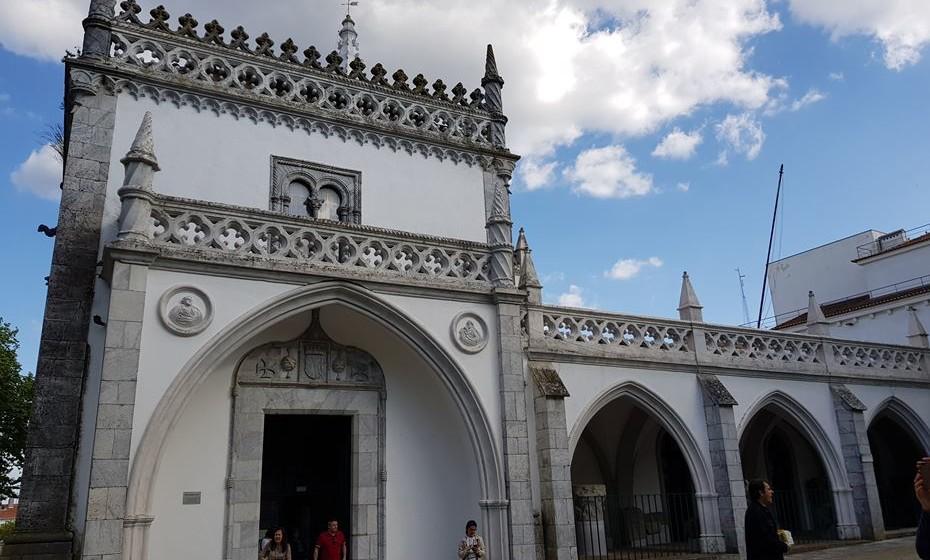 Museu Regional de Beja, antigo Convento de Nossa Senhora da Conceição, onde Mariana Alcoforado viveu desde os 11 anos até à sua morte, aos 83 anos.