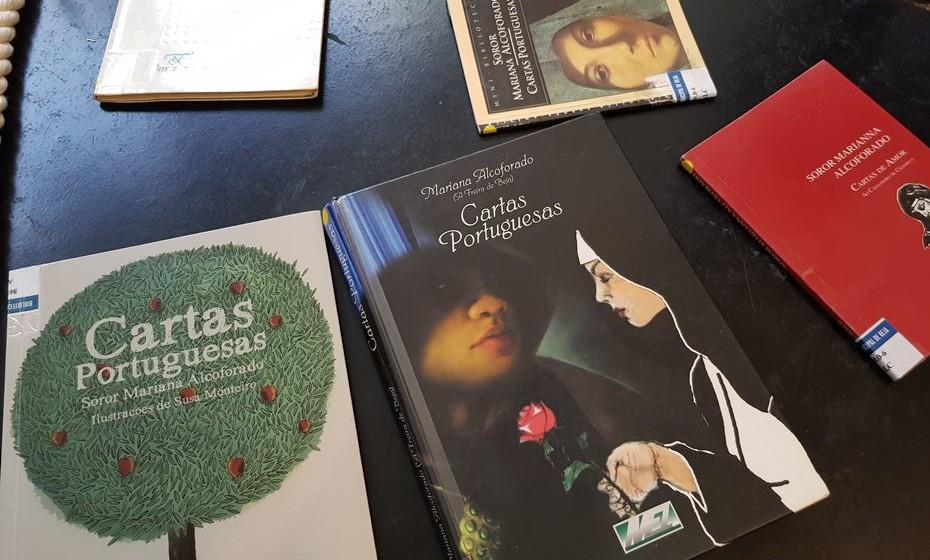 Na biblioteca de Beja é possível consultar várias edições das 'Cartas Portuguesas', de Mariana Alcoforado ao seu amado.