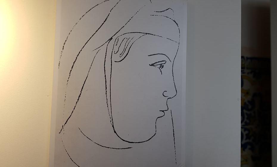 Mariana Alcoforado vista pelo artista francês Matisse.