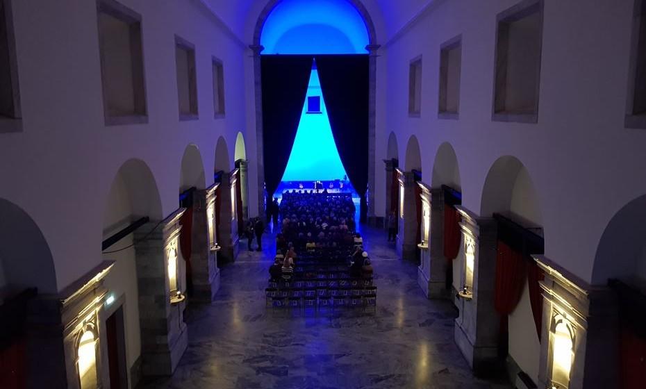Igreja do Convento de São Francisco, onde decorreu o concerto dos  Barbara Furtuna.