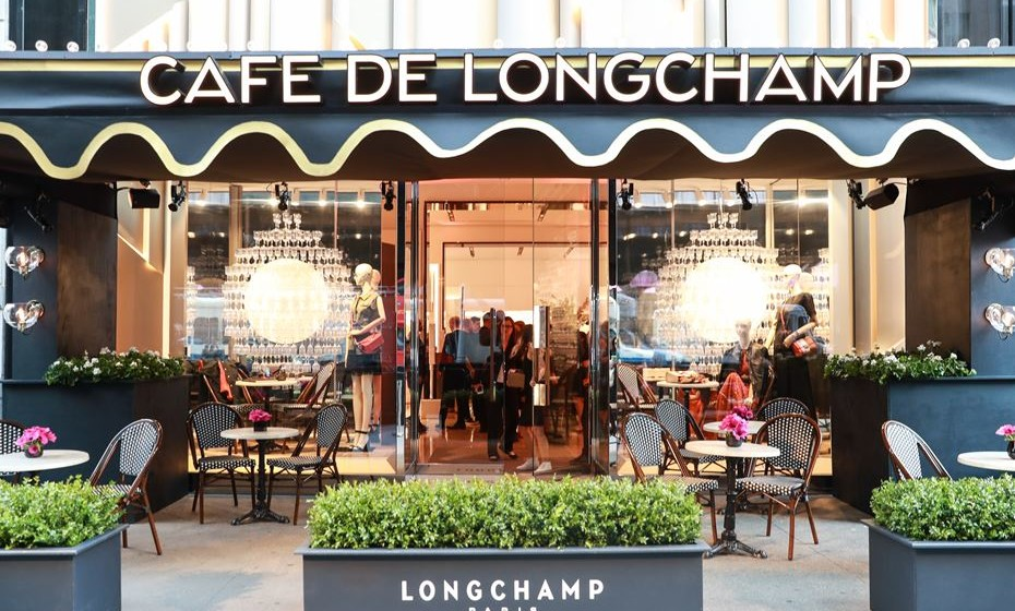 Cafe Longchamp. Fotos: Longchamp