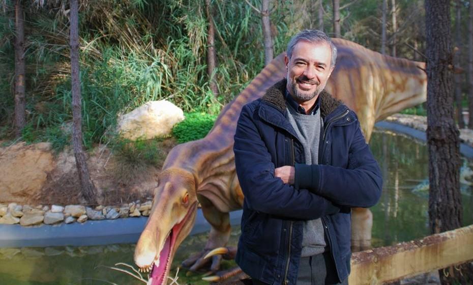 Luís Rocha, diretor do Dino Parque – Parque dos Dinossauros da Lourinhã