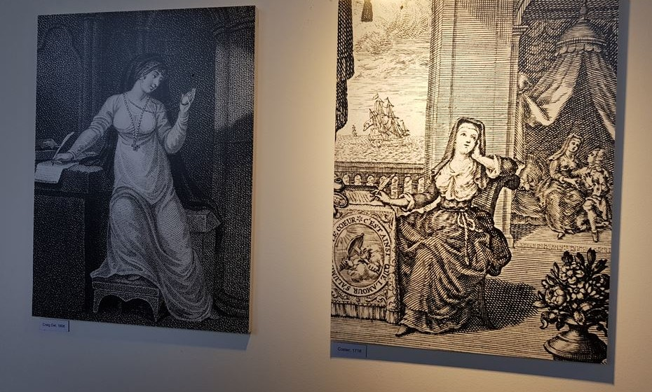 Mais representações da freira no Museu Regional de Beja.