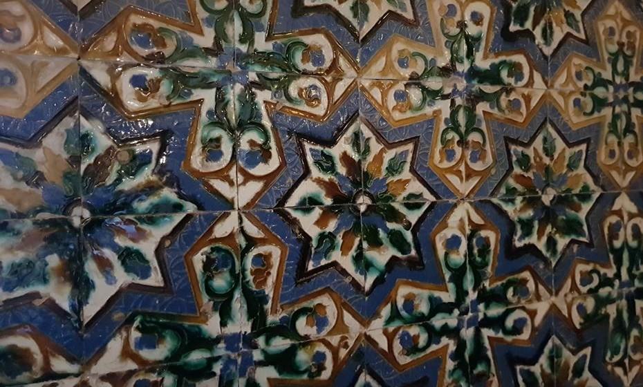 O Museu tem azulejos de quatro séculos.