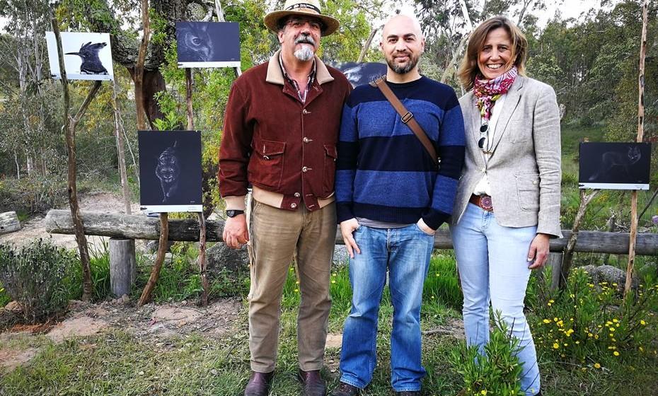 Diogo Gouveia, João Simões e Ana Paula