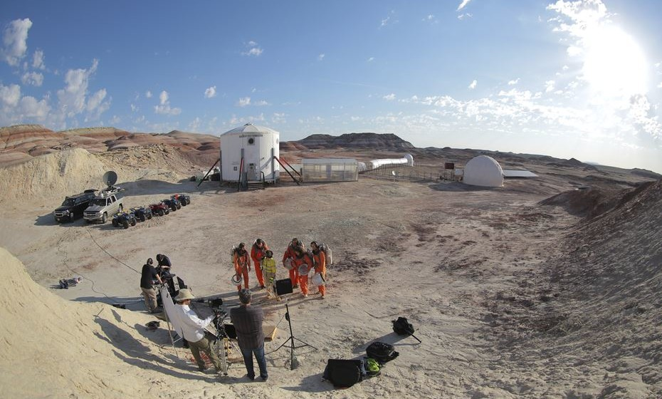 Mars Desert Research Station, no Utah, EUA