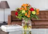 Sugestão de flores no local de trabalho