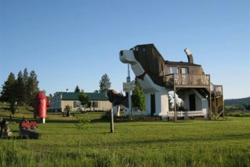 Dog Bark Park Inn, em Cottonwood, Idaho, EUA