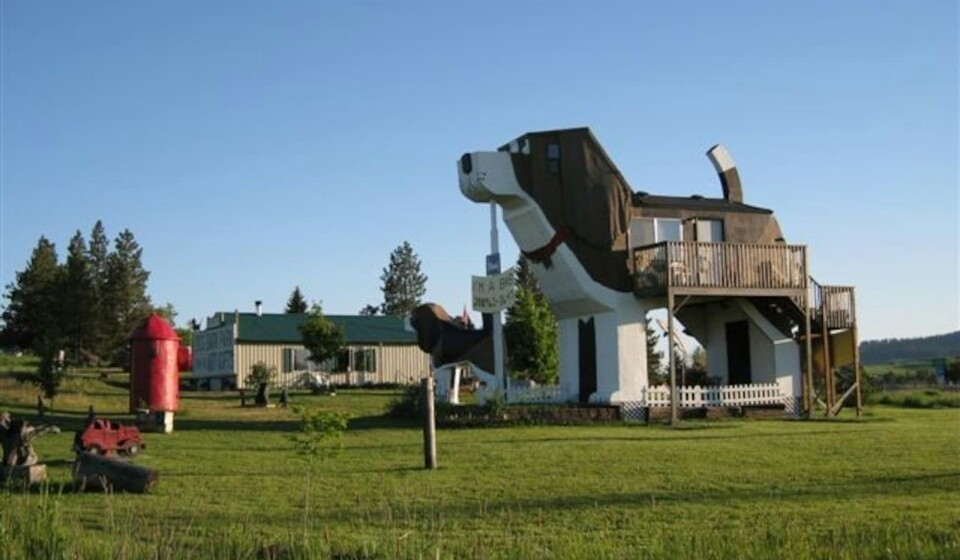 Dog Bark Park Inn, em Cottonwood, Idaho, EUA