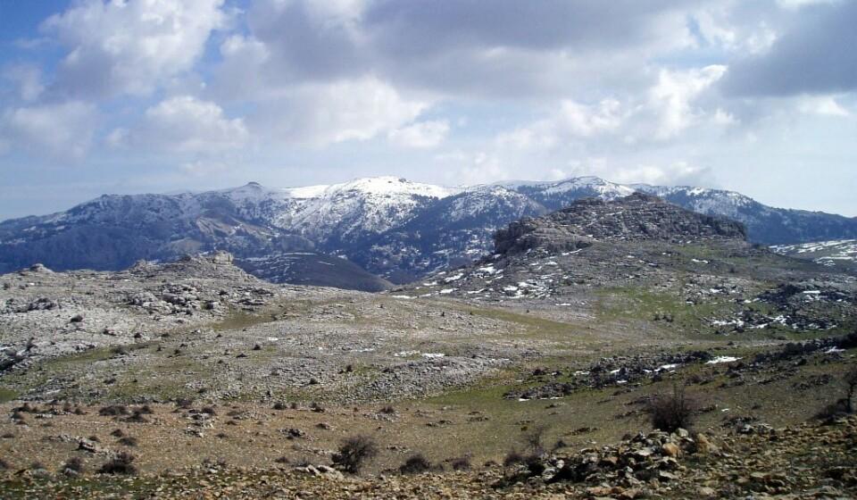 Panorama da Serra Nevada -wikimedia