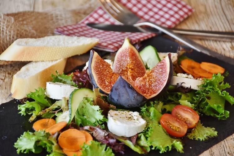 colesterol prato salada figos
