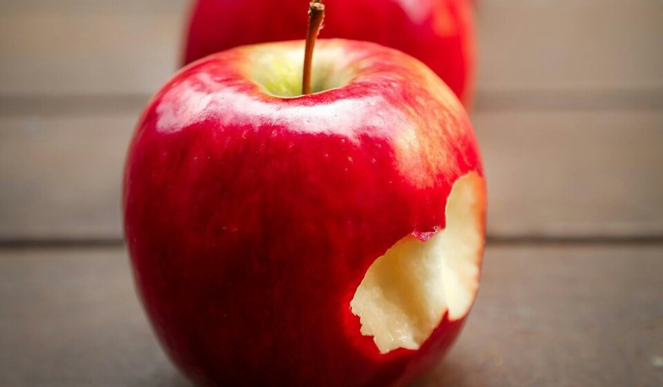 Maçãs - Estas, que normalmente estão disponíveis em várias cores, tamanhos e sabores, têm cerca de 13 a 15% de hidratos de carbono. Estas maçãs possuem vitaminas, minerais, vitamina C, antioxidantes e outros compostos vegetais. Comer maçãs pode beneficiar a saúde de várias maneiras.